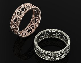 3D print model Ring wedding diamond-ring