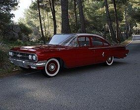 Chevrolet Biscayne 4-Doors Sedan 1960 3D