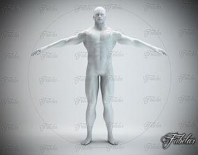 Male body Std Mat 3D asset