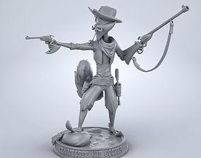 3D printable model Tennessee Kid Cooper