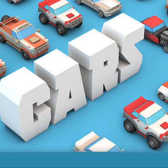 Low Poly Racing Car Pack
