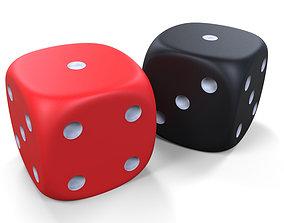 3D cube Game dice