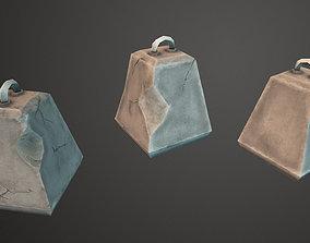 Concrete Blocks 3D asset