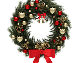 christmas wreath other 3D model