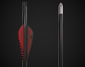 Arrow 3D asset low-poly