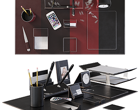 3D model Desk Set for Executive Director