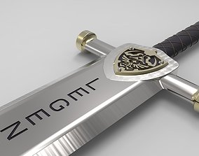 Realtime Sword - The legend of Zelda 3D model