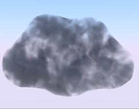 Cloud 3D model game-ready