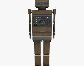Shikaku The Hipster Robot Next Gen PBR Game and 3D model 1