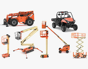 JLG Industries Equipment Collection 3D