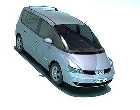 3D asset Renault Espace IV 2002