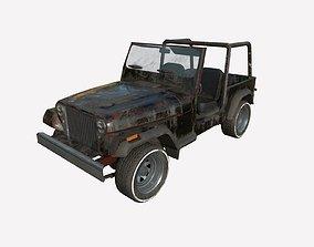 Abandoned Car 65 3D