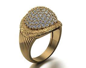 gold fashionring fashion ring 3D printable model