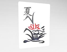 3D asset Mahjong v1 039