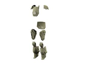 3D print model Halo 4 armor