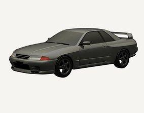 3D asset Nissan Skyline R32 GTR