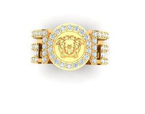 Rings wealth 3D printable model
