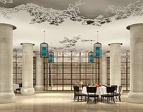 3D model Business Restaurant - Coffee - Banquet 08