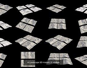 octane 8 Landscape 3D models