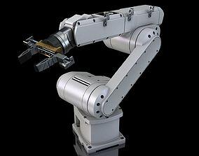 Industrial Robot Arm 3D print model