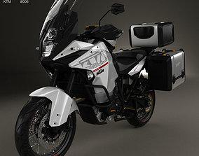 3D model KTM 1290 Super Adventure 2015