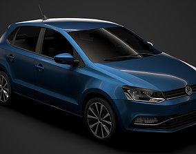 Volkswagen Polo TDI 5d Typ6C 2017 3D