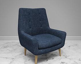 fabric Loft chair 3D model