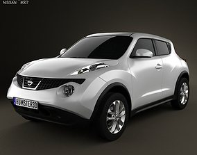 3D Nissan Juke 2011