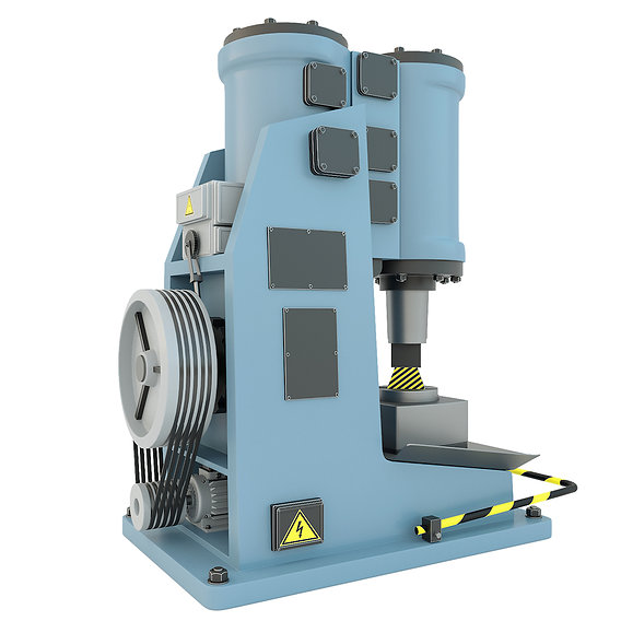 Industrial machine tool - MA4129A Pneumatic forging hammer