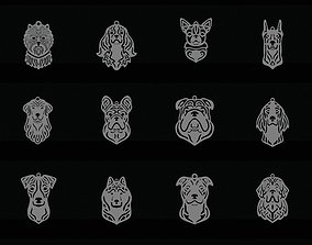setter My dog pendant collection 3D print model