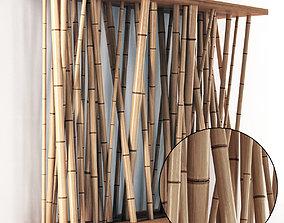 3D model Bamboo wall decor