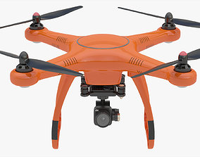 animated 3D Animated Drone Autel Robotics X-Star
