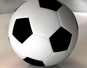 3D sport Soccerball
