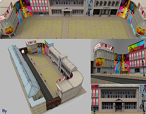 game-ready 3d Mall Gaming Low poly