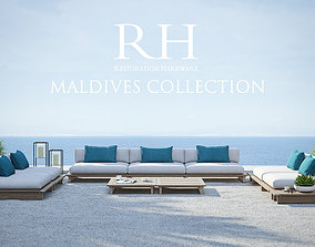 Restoration Hardware - Maldives Collection 3D