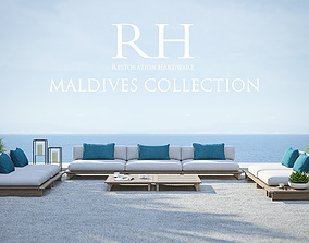 Restoration Hardware - Maldives Collection 3D