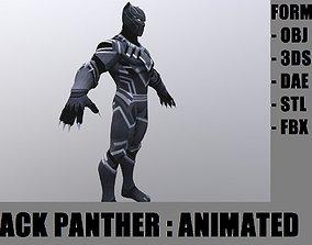 3D asset Blackpanther