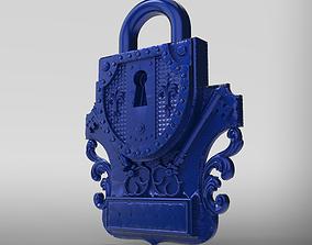 3D print model door lock