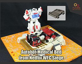 Autobot Medical Bed from Netflix WFC Siege 3D print model