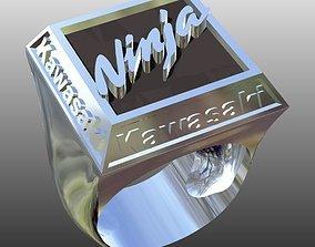 kawasaki ring 3D print model