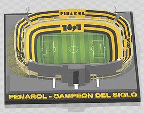 Club Atletico Penarol - Estadio Campeon del 3D print model