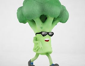 Broccoli Joe 3D model