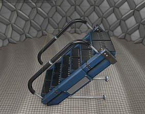 3D model Sci-Fi Stairs - 5 - Blue Version