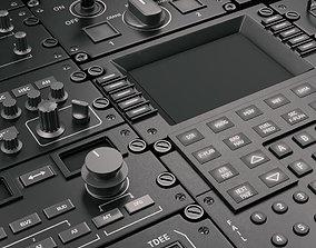 3D model Cockpit Elements