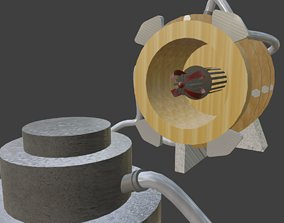 3D model Laboratory Machine D - Superconductor
