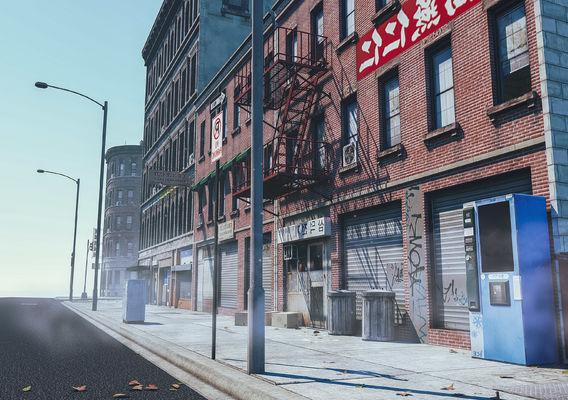 City block 1 3D model