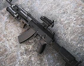 Kalashnikov AK 12 rifle 3D