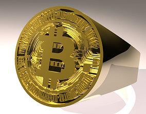 bitcoin ring 3D print model