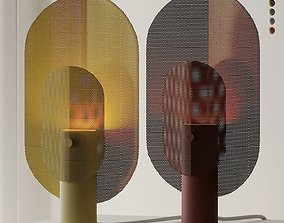 3D Filter Table Lamp by Blu Dot
