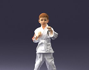 Kimono boy 1016-2 3D Print Ready
